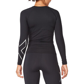 2XU Core Compression LS Shirt Women, black/silver